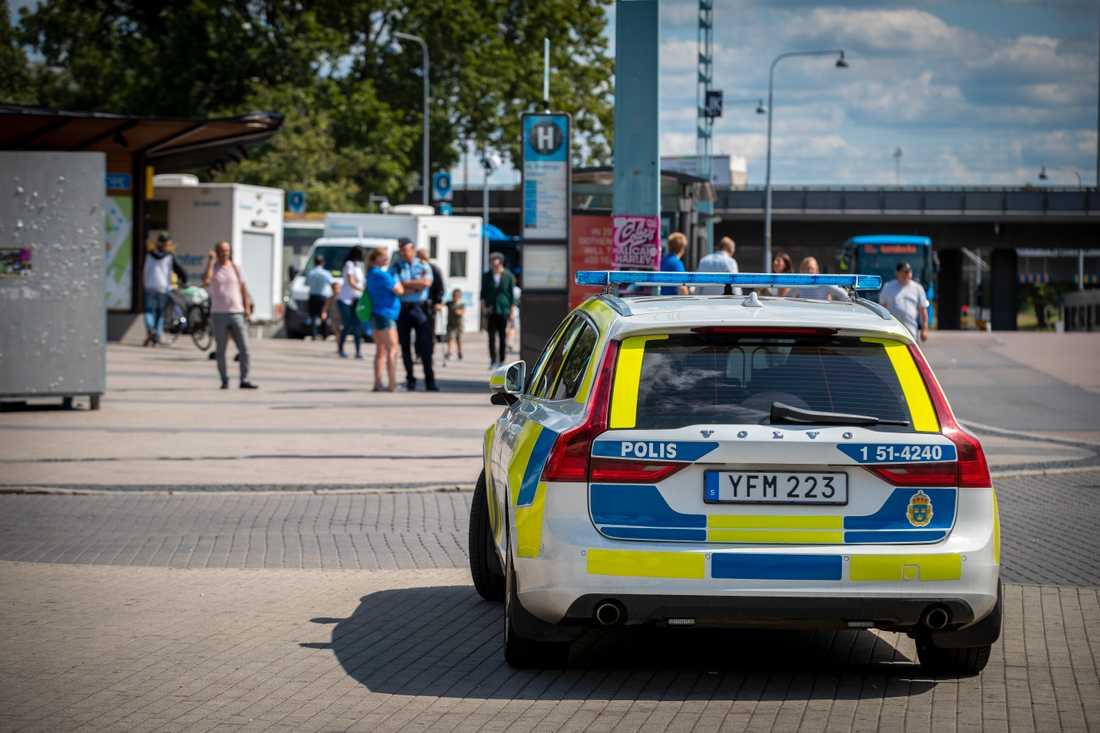 Polisen Thomas Fuxborg anser att det som har hänt är oerhört tragiskt.