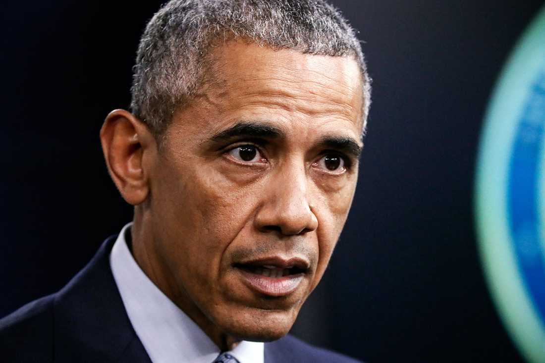 Barack Obama, USA:s president.