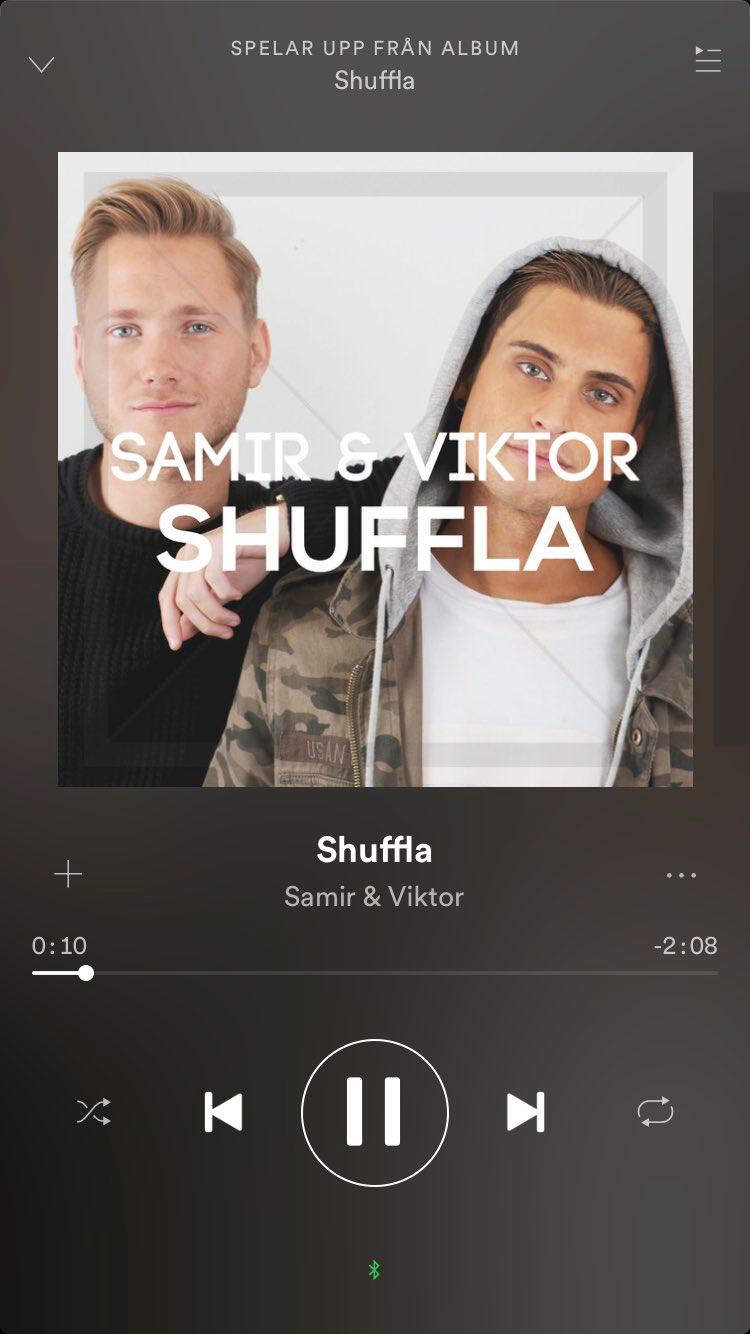 Spotify-versionen av Samir och Viktors låt var 2:08 lång och har ett felaktigt skivomslag. Efter skivbolagets larm har den plockats bort från streamingtjänsten.
