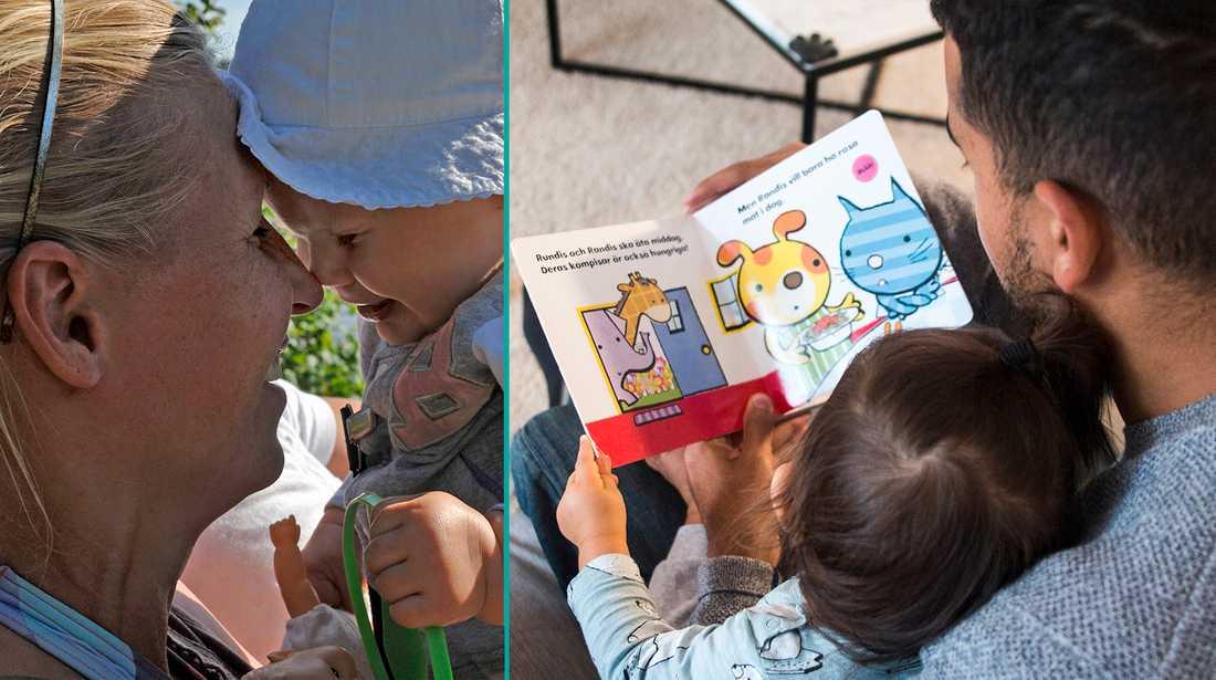 Barnpsykologen: Att läsa högt kan vara ett sätt att visa kärlek.
