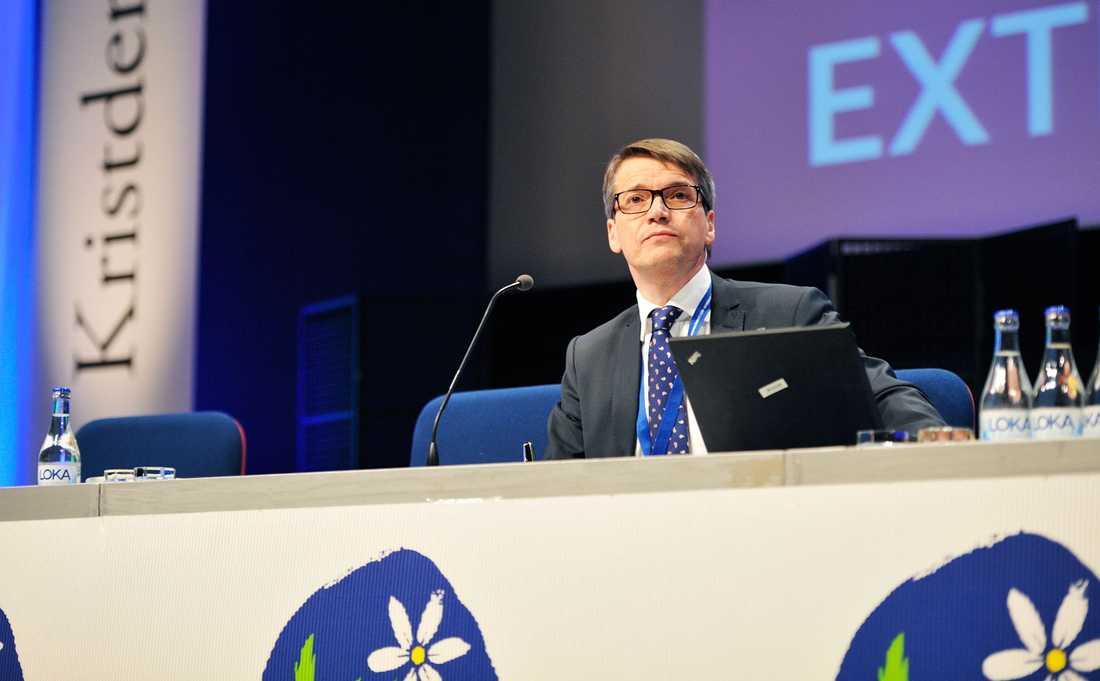 Kristdemokraternas partiledare Göran Hägglund.