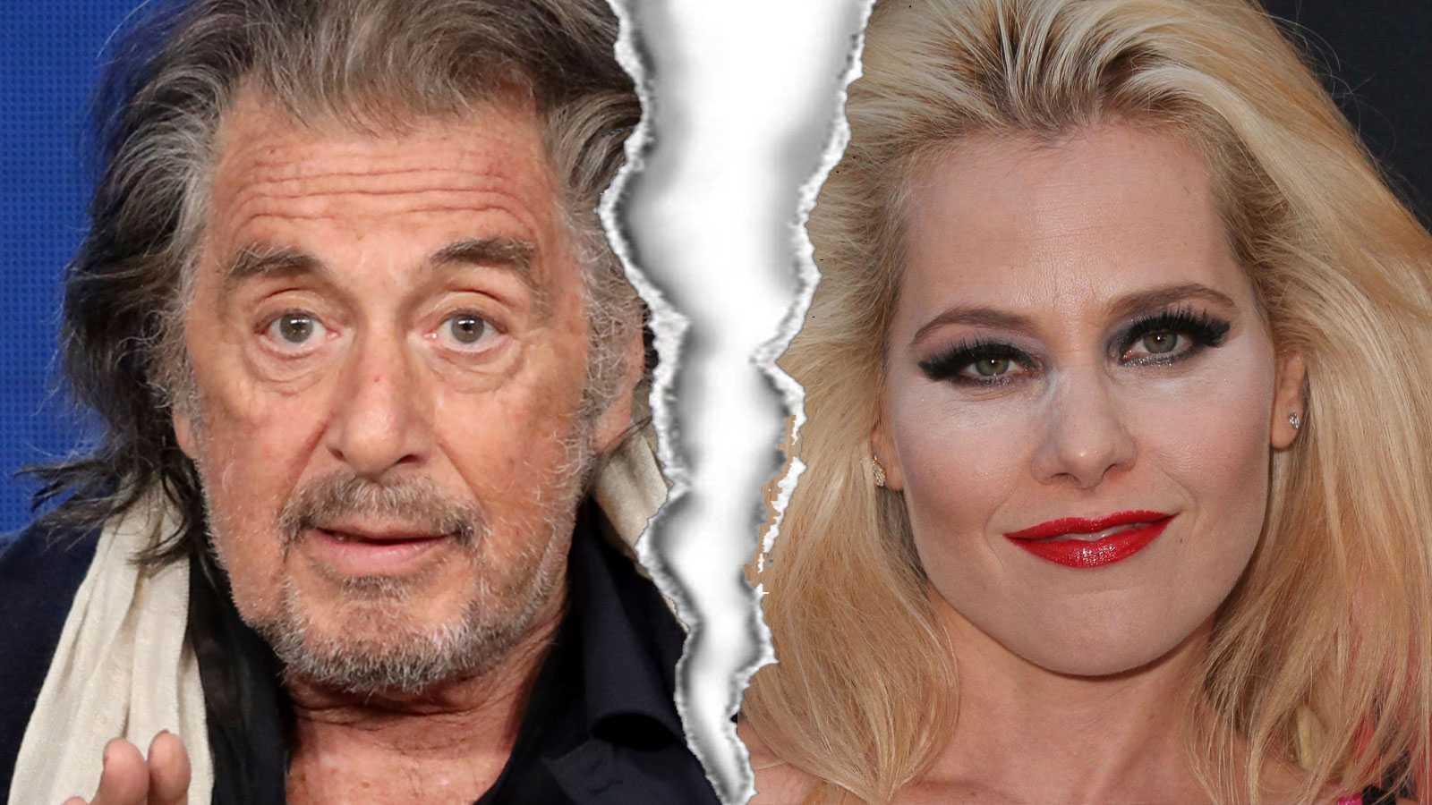 Al Pacino lämnad av flickvännen