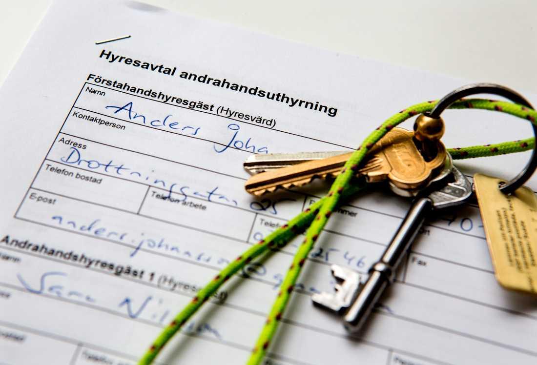 Från och med den 1 oktober gäller hårdare regler för olovlig andrahandsuthyrning.