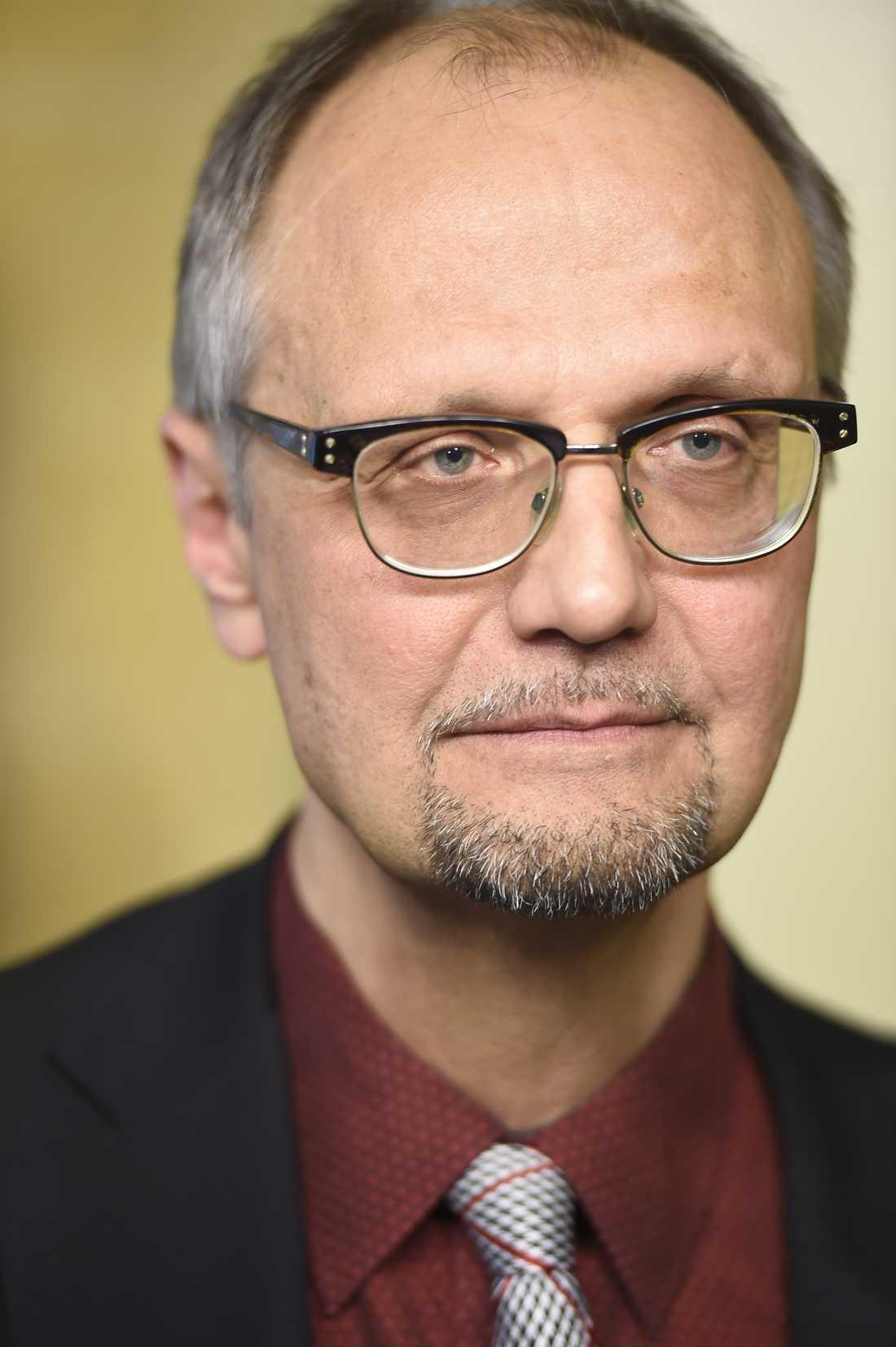 Ulf Bjereld, ordförande i S-förbundet Tro & Solidaritet.