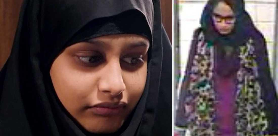 """""""IS-bruden"""" Shamima Begums knappt te veckor gamla bebis dog i torsdags i lunginflammation i ett flyktingläger i Syrien.  Den brittiska regeringen har dragit in hennes medborgarskap."""