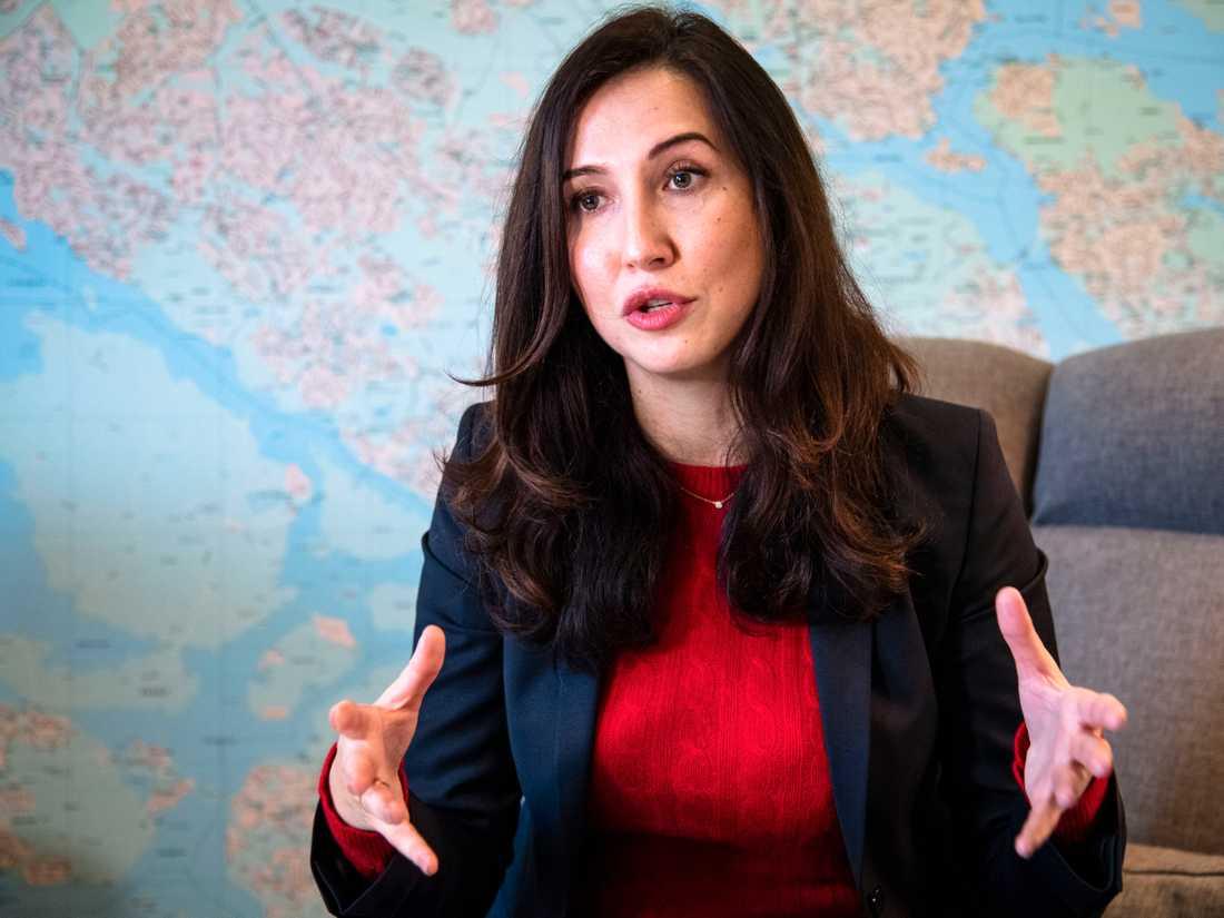 Skulden till krisen i Stockholmssjukvården lägger Aida Hadzialic (S) på det M-ledda styret.
