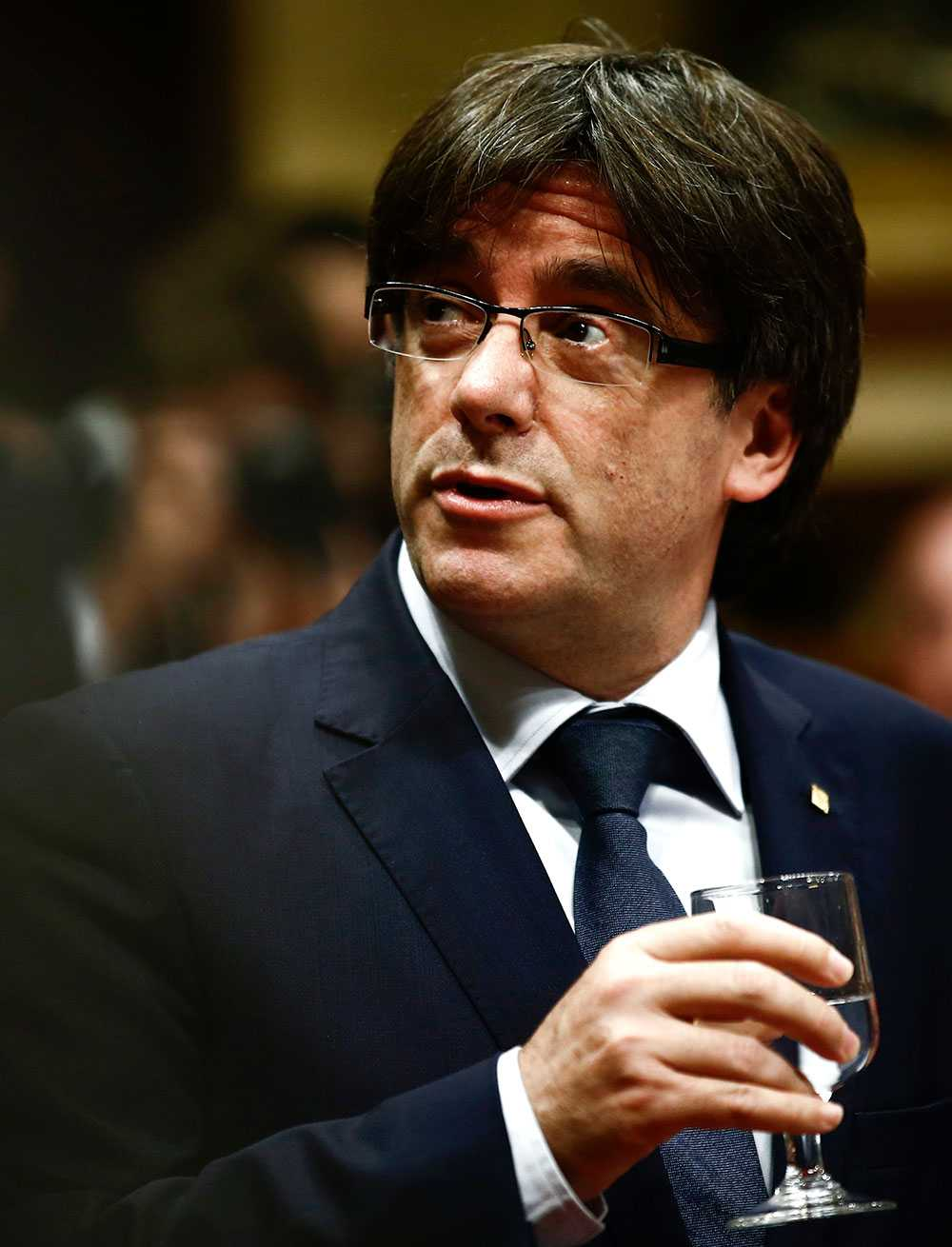 Kataloniens regionpresident Carles Puigdemont.