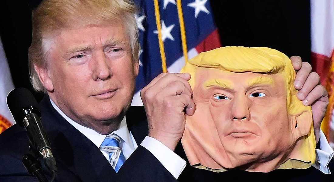 Bakom masken Valresultatet i USA har i svenska liberala medier mötts av självömkan och försök att normalisera Trump.