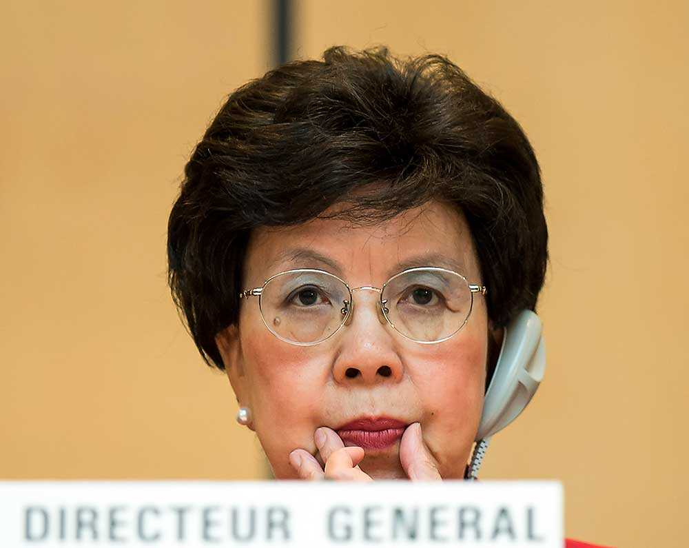 WHO:s generalsekreterare Margaret Chan