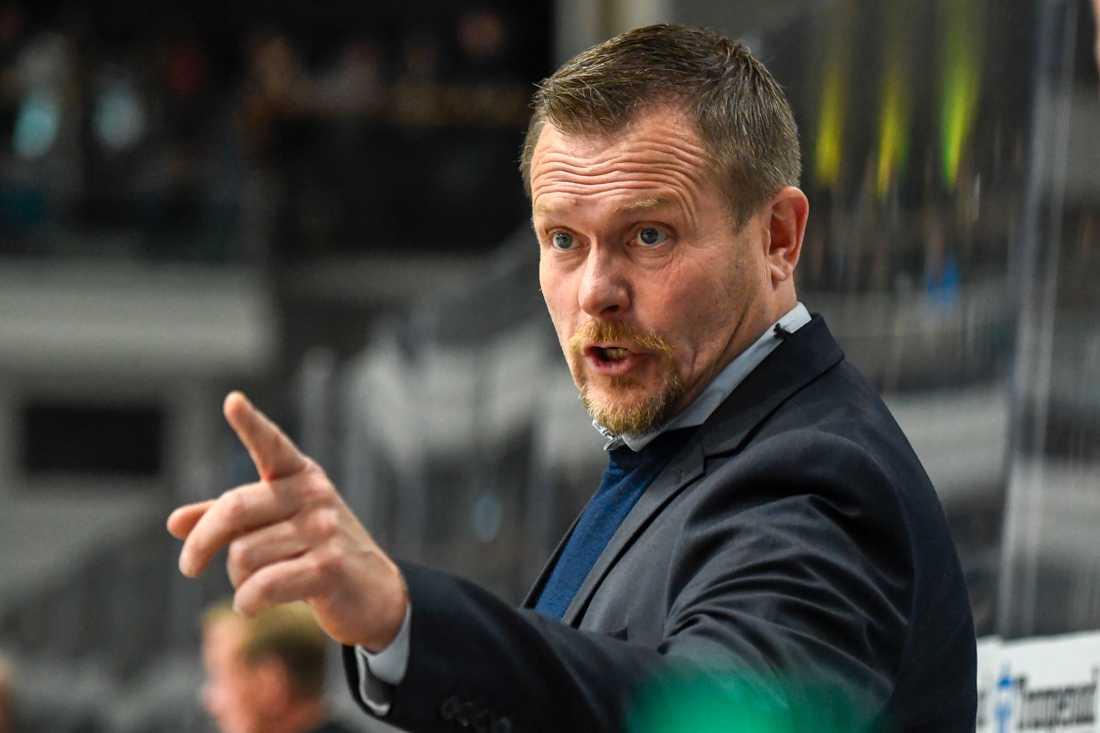 Björklövens tränare Joakim Fagervall slutar efter säsongen. Arkivbild.