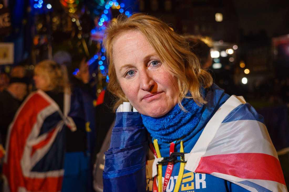 Elsbeth Williams, 51, är motståndare till brexit.
