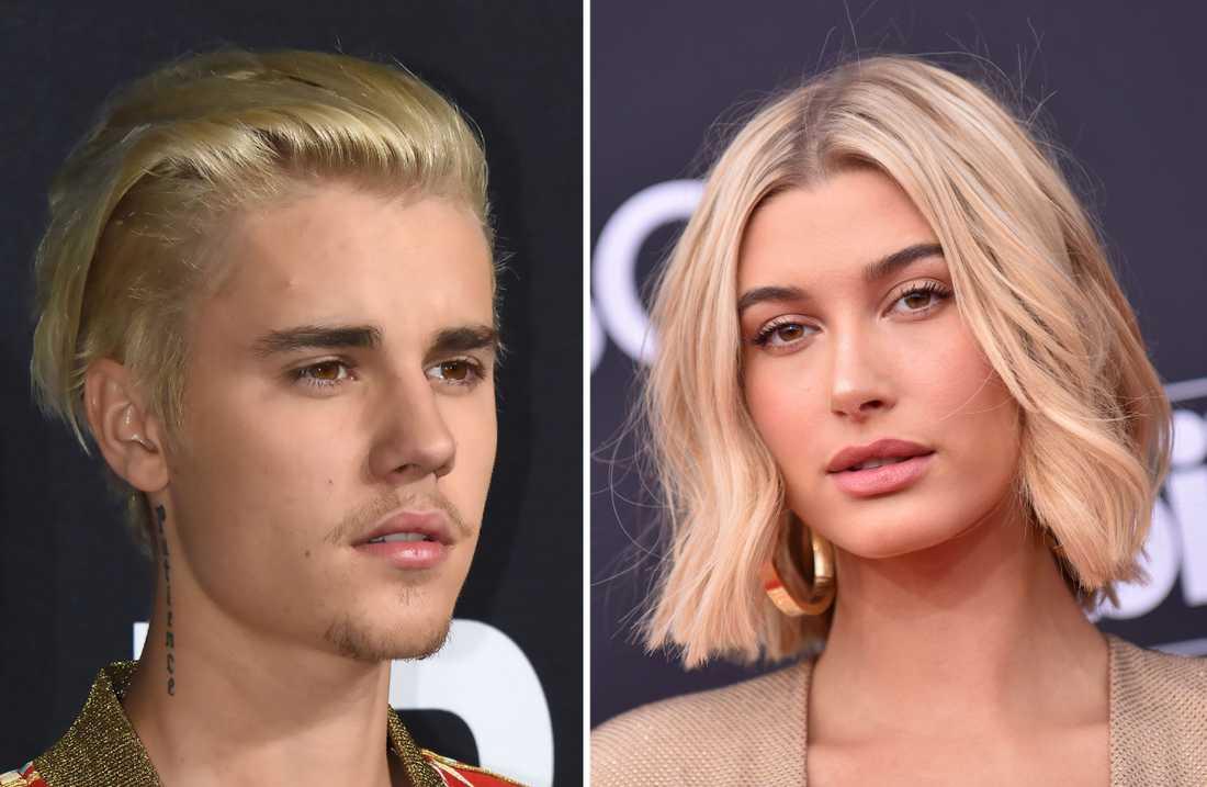 Justin Bieber och Hailey Baldwin.