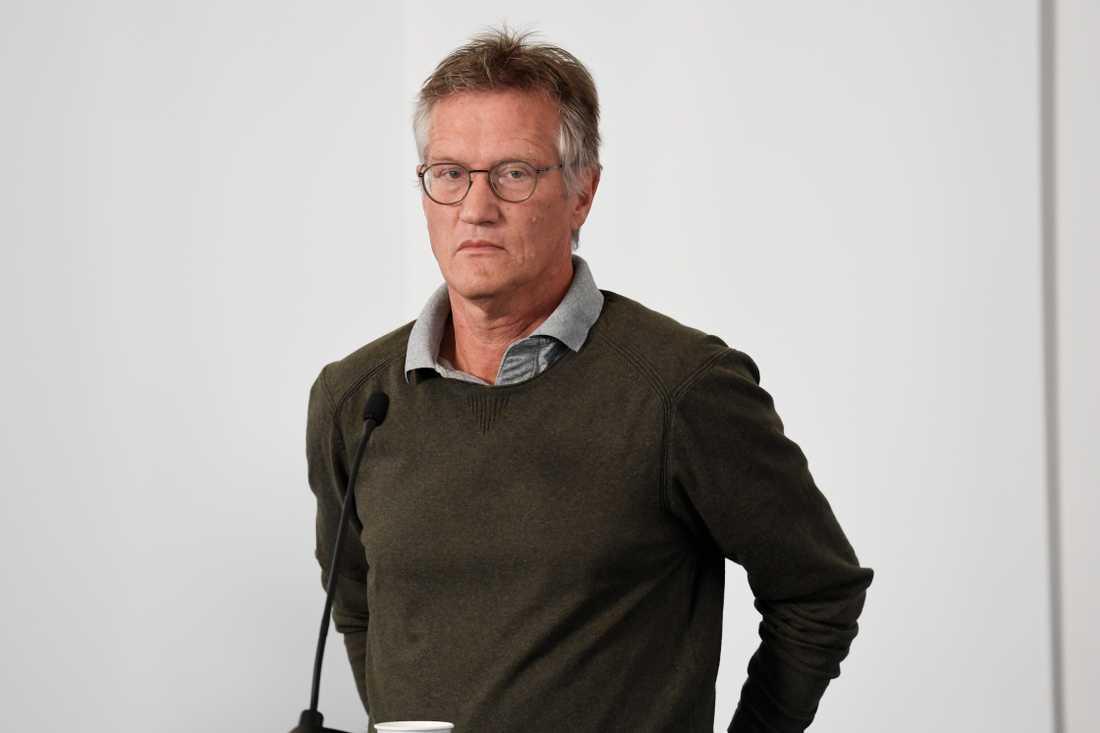 """""""Jag känner mig som en slagpåse"""", säger statsepidemiolog Anders Tegnell."""