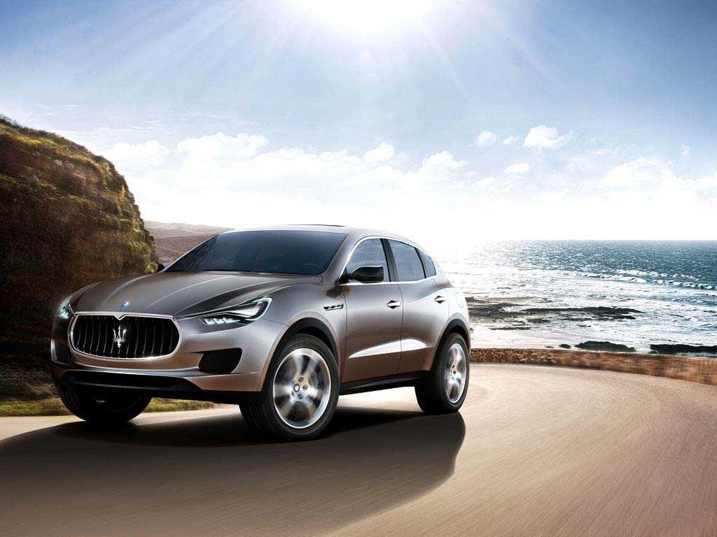 Italienska Maserati kommer visa upp sin nya Levante. På bilden: konceptet Kubang från 2011.