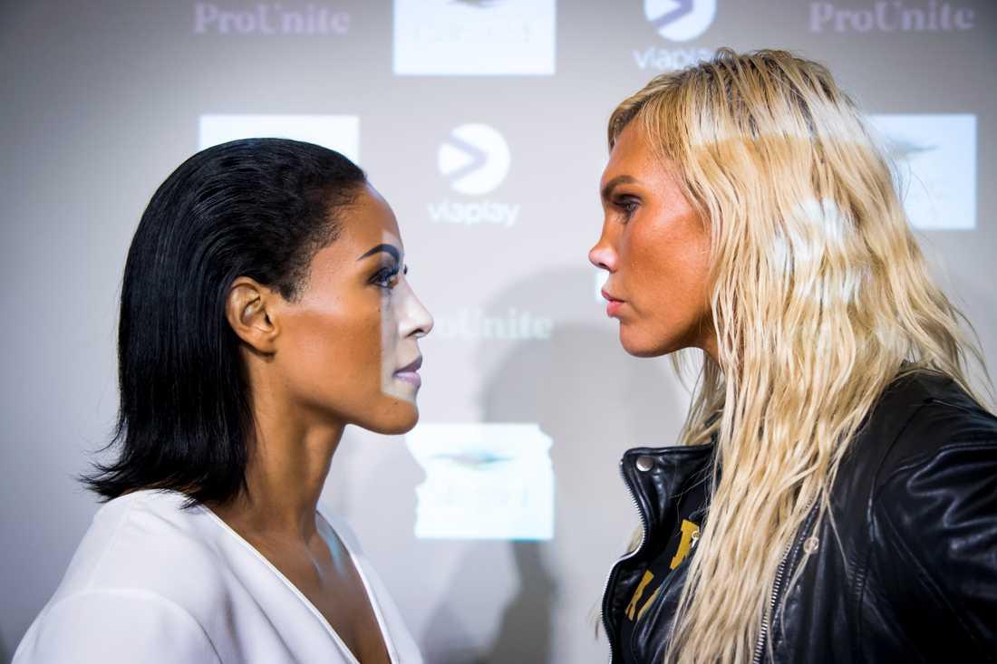 Biljettförsäljningen går trögt inför VM-matchen i boxning mellan Cecilia Brækhus och Mikaela Laurén. Arkivbild.