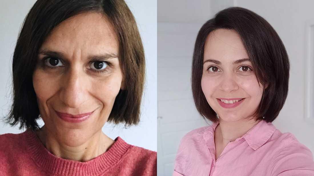 Maryam Mehrnezhad och Teresa Almeida är forskare vid Newcastle University respektive Umeå universitet. Pressbild.