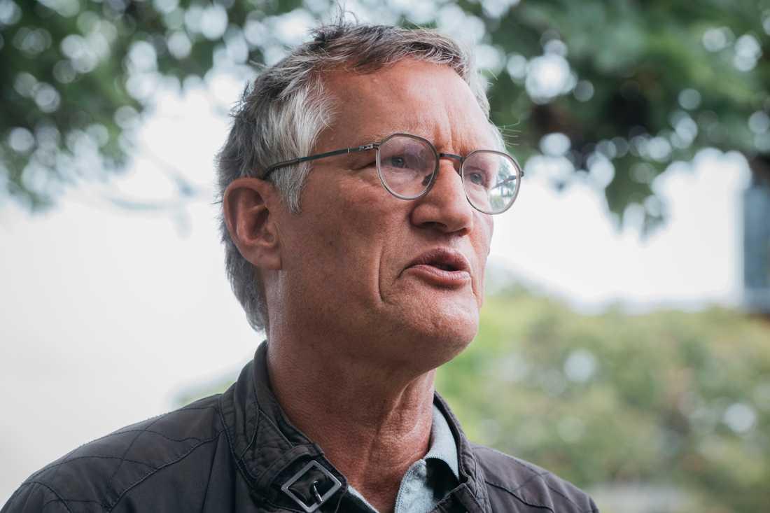 Statsepidemiolog Anders Tegnell, Folkhälsomyndigheten.