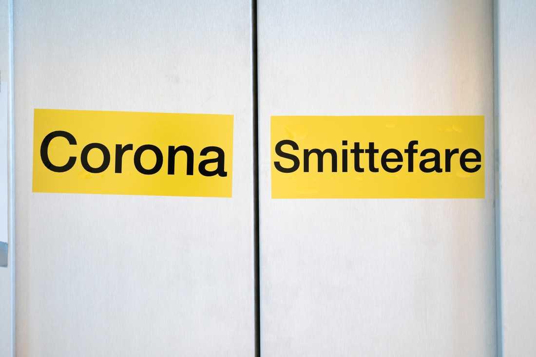 Ingen coronapatient vårdas i respirator i Norge, meddelar Helsedirektoratet. Arkivbild.