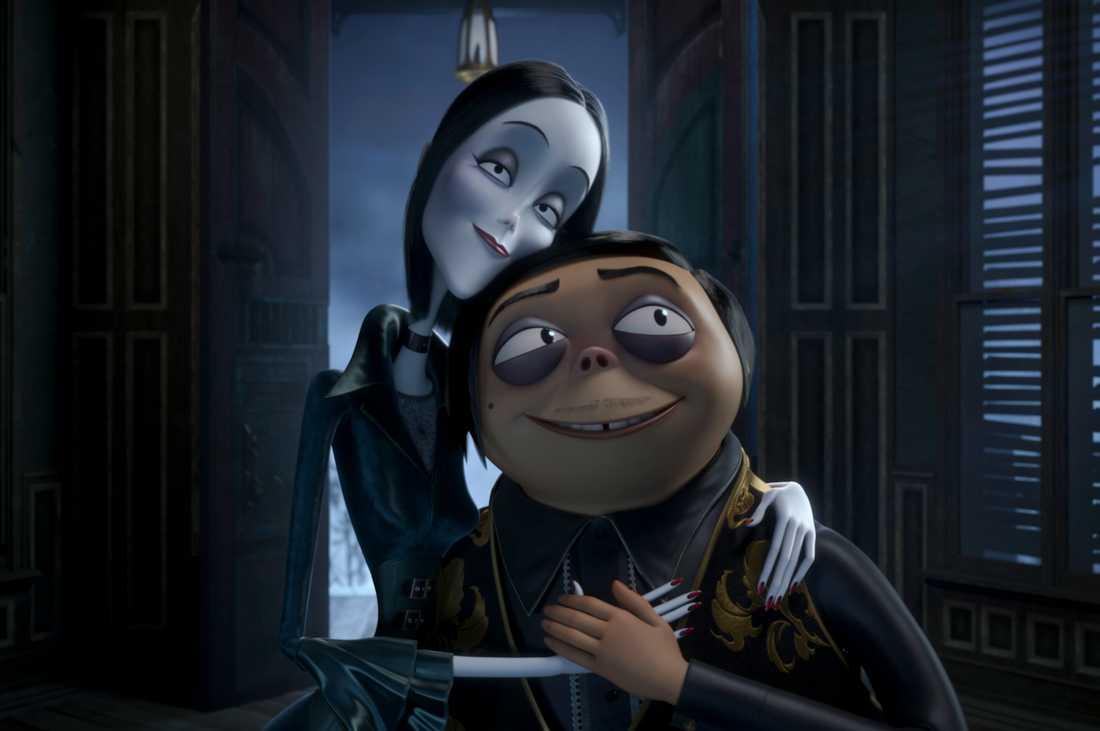 """Familjen Addams""."