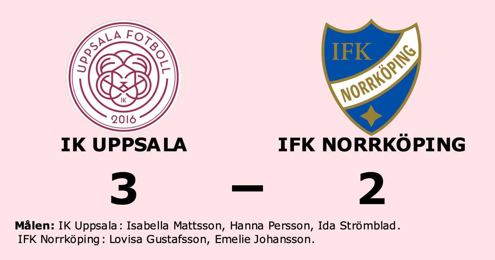 IFK Norrköping tappade ledning och fick se sig besegrat
