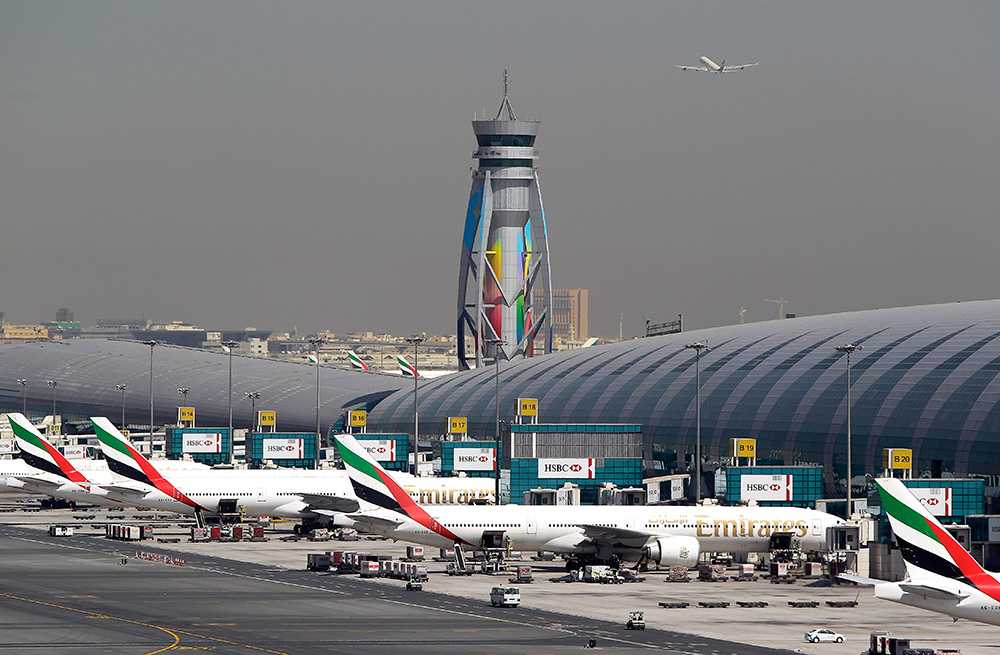 Dubais flygplats.