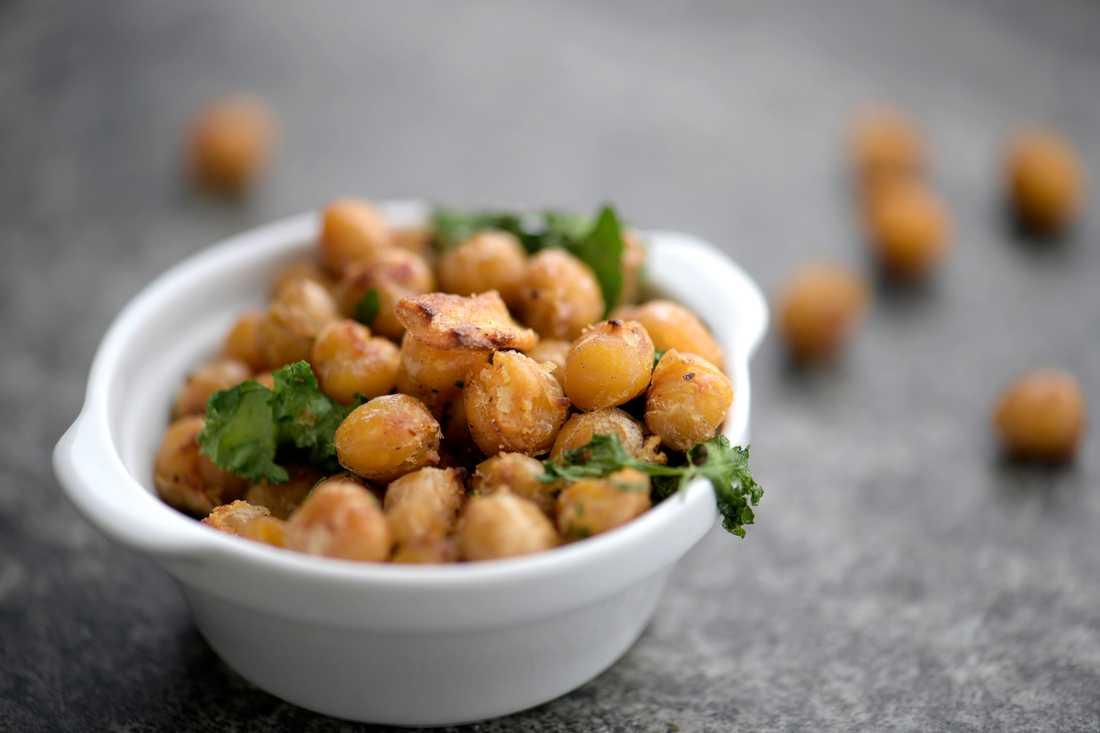 Kikärter och andra baljväxter innehåller långsamma kolhydrater, som vi bör äta mer av. Arkivbild.