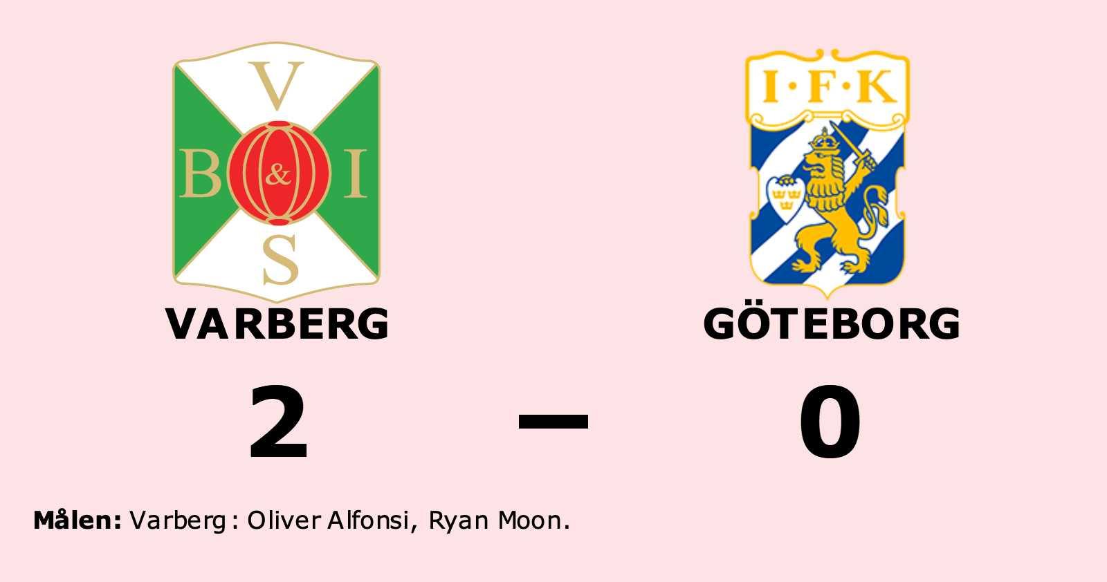 Göteborg förlorade borta mot Varberg