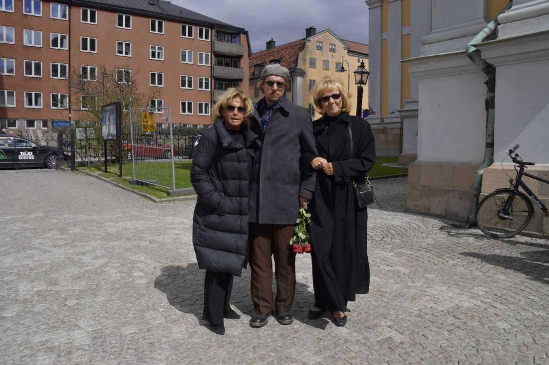 Barbro Lill-Babs Svensson och Vicky von der Lancken.