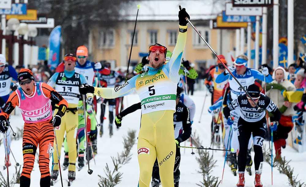 John Kristian Dahl, Norge, vann Vasaloppet 2016