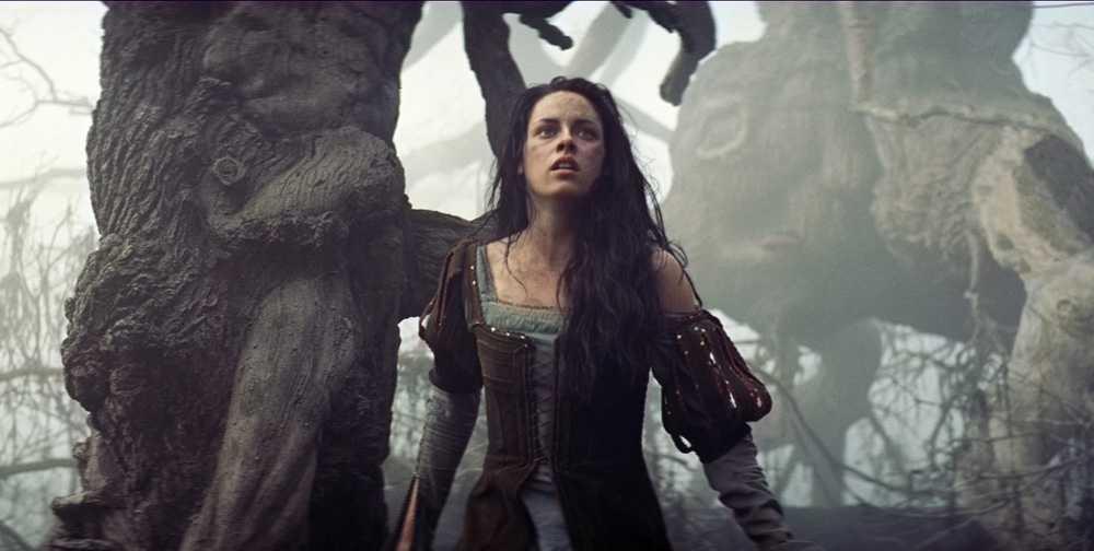 Kristen Stewart som Snövit.