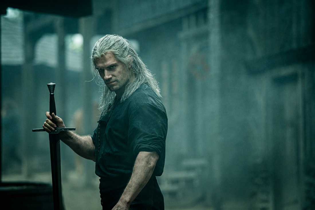 "Henry Cavill i ""The witcher""."