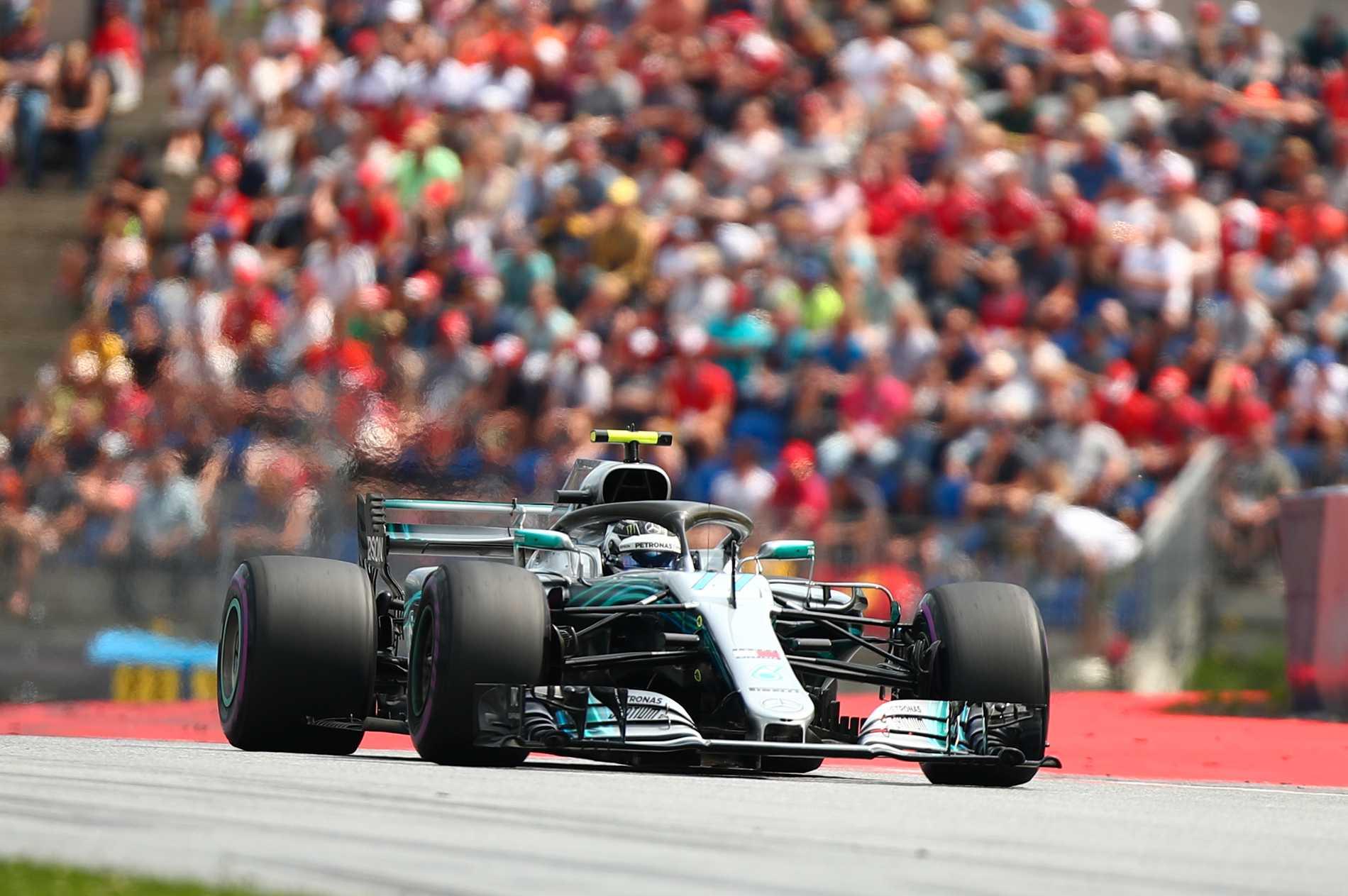 Valtteri Bottas har skrivit kontrakt med Mercedes F1 2019