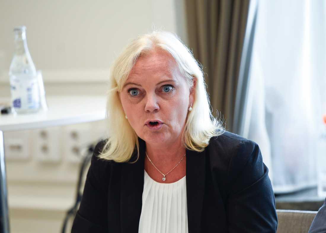 Kristina Winberg, SD, anmälde Lundgren –och petades.
