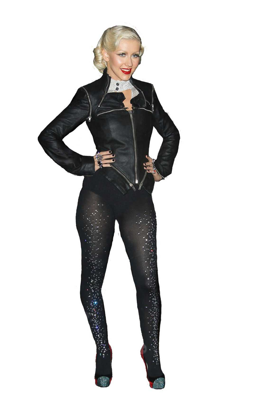 I riskzonen I RISKZONEN Christina Aguilera, Robyn och Sanna Bråding gillar alla att bära leggings – och riskerar därför att bli feta, enligt fysioterapeuten Sammy Margo.