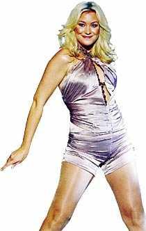 Jessica Anderssons shortschock från 2006....