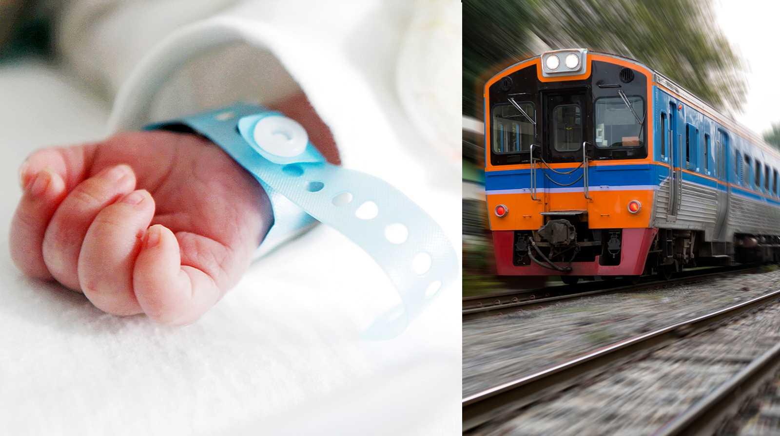 En flicka föddes på ett tåg och får nu gratis resor i 25 års tid.