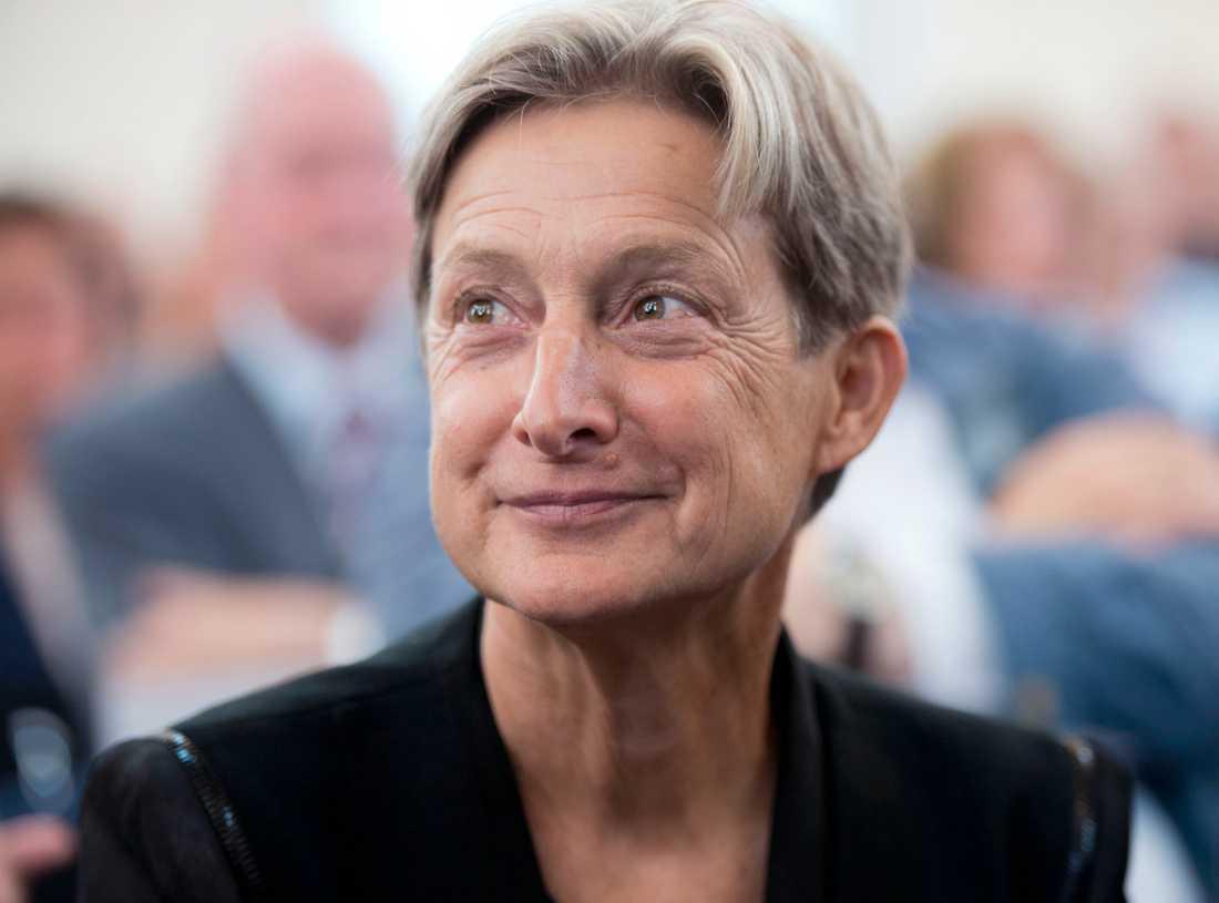 Judith Butler, professor i retorik och litteraturvetenskap.