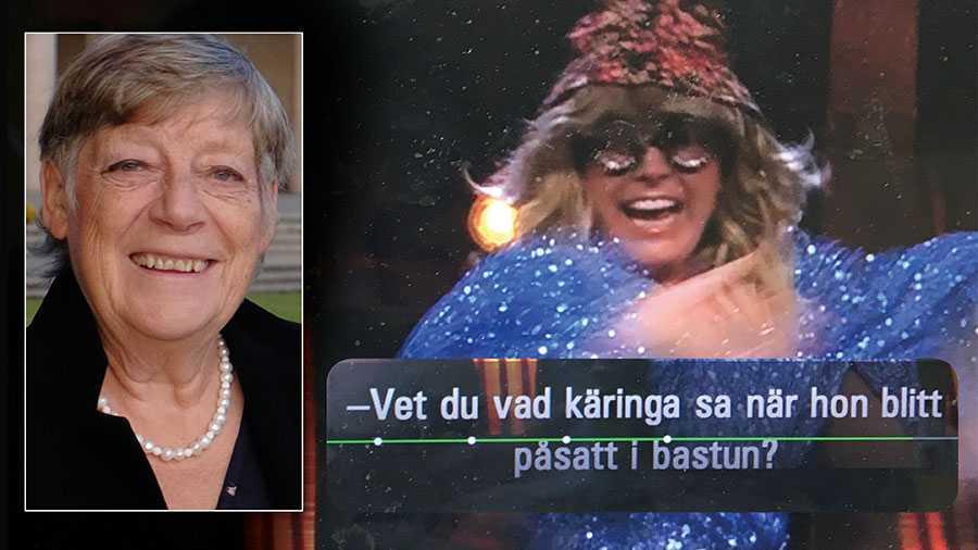 I SVT hittar man skrämmande exempel på åldersdiskriminering som inte borde förekomma i public service – nu senast i Melodifestivalen. Det visar sig att underhållningsprogram gärna driver med äldre – och att detta nästan enbart gäller kvinnor, skriver Elisabet Carlsson.