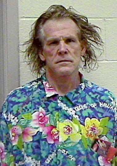Nick Nolte En klassisk mugshot. Den 11 september 2002 greps han på Pacific Coast Highway i Kalifornien för rattfylla. På samma vägsträcka skulle kollegan Mel Gibson åka fast knappt fyra år senare.
