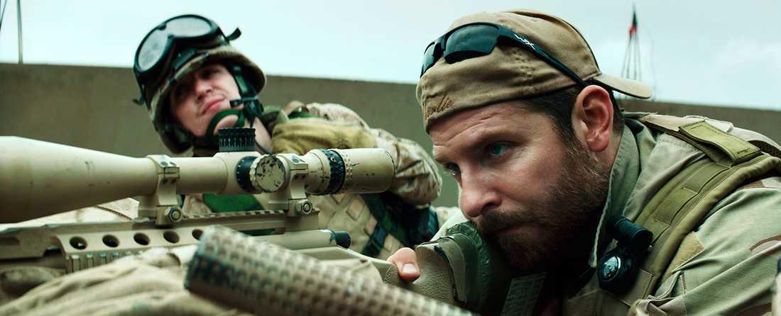 Bradley Cooper som Chris Kyle.