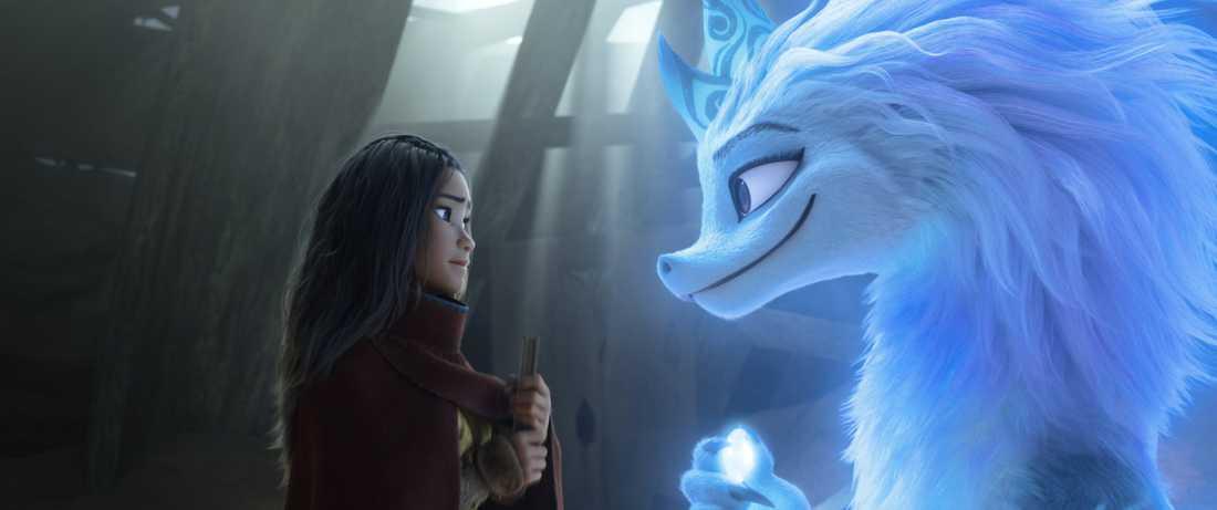 """""""Raya och den sista draken"""" utspelas i en tid för mycket länge sedan. Pressbild."""