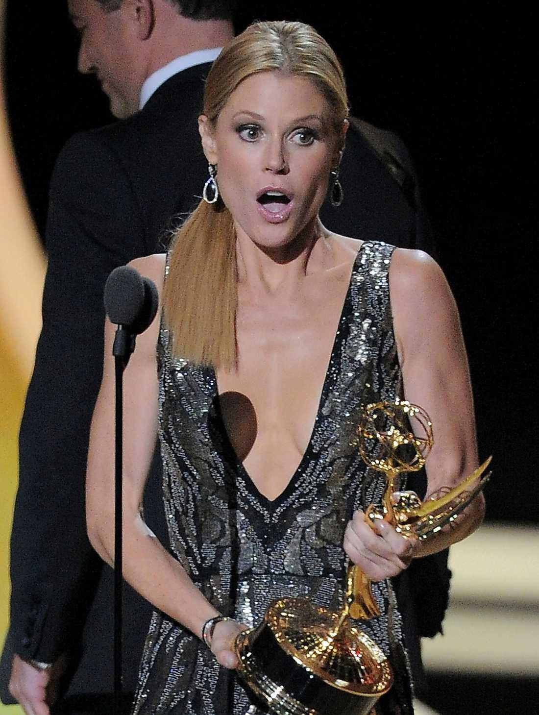 """Julie Bowen (""""Modern family"""") vann en Emmy."""