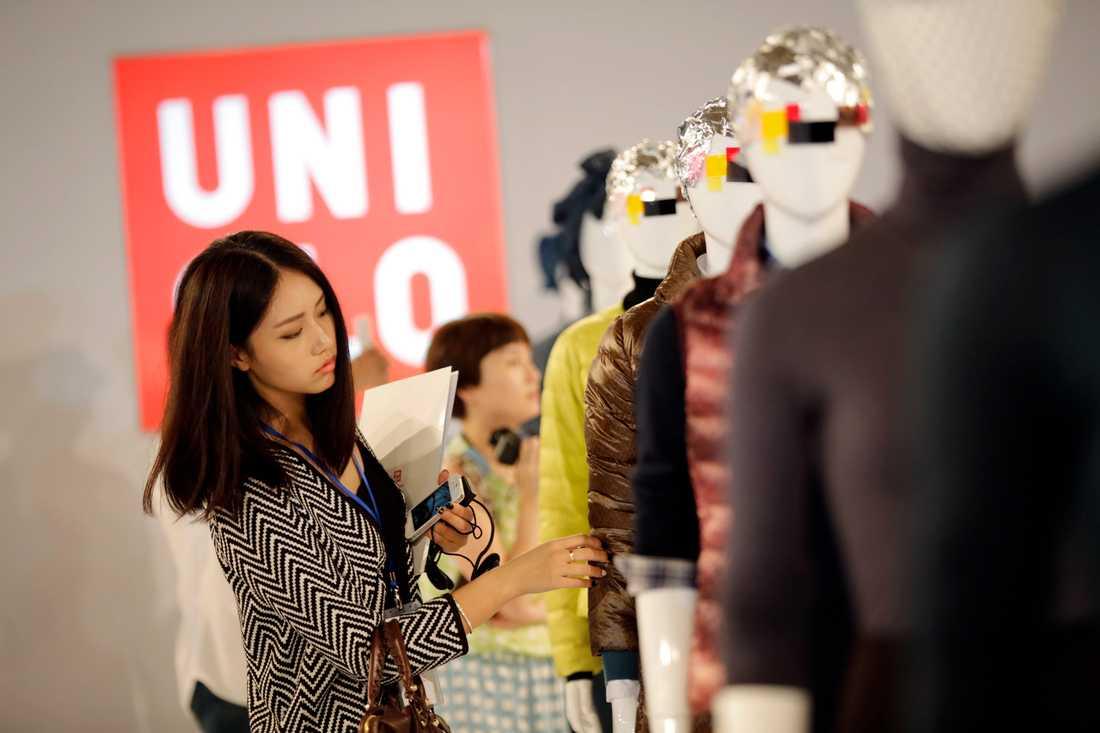 Det japanska klädmärket Uniqlo öppnar i morgon. Arkivbild.