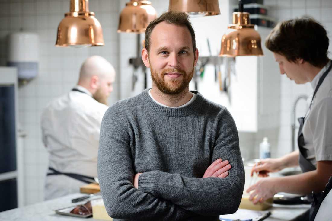 Björn Frantzén har med sin restaurang Frantzén i Stockholm tagit sig in på plats 21 bland världens bästa krogar. Arkivbild.