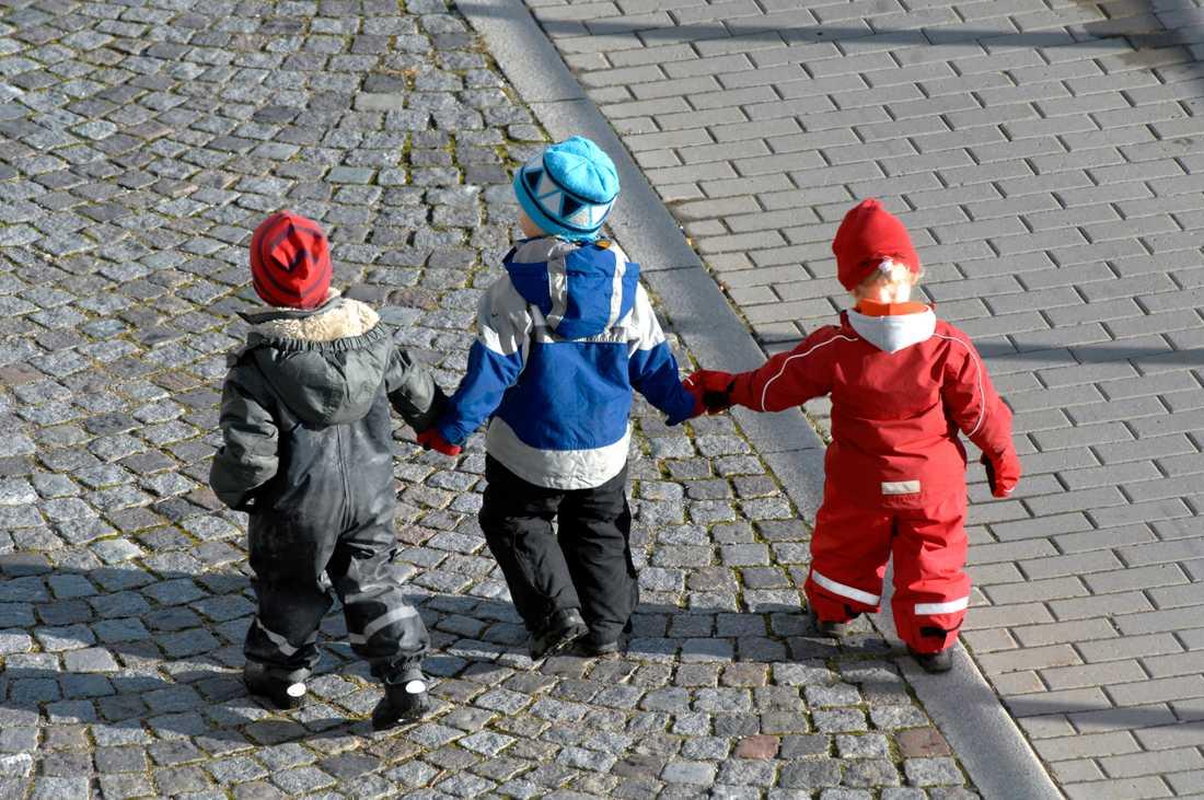 Flera barn har vid olika tillfällen rymt från Ribersborgs förskola. Nu vill föräldrar att staketet som omgärdar förskolan blir högre. (Arkivbild).