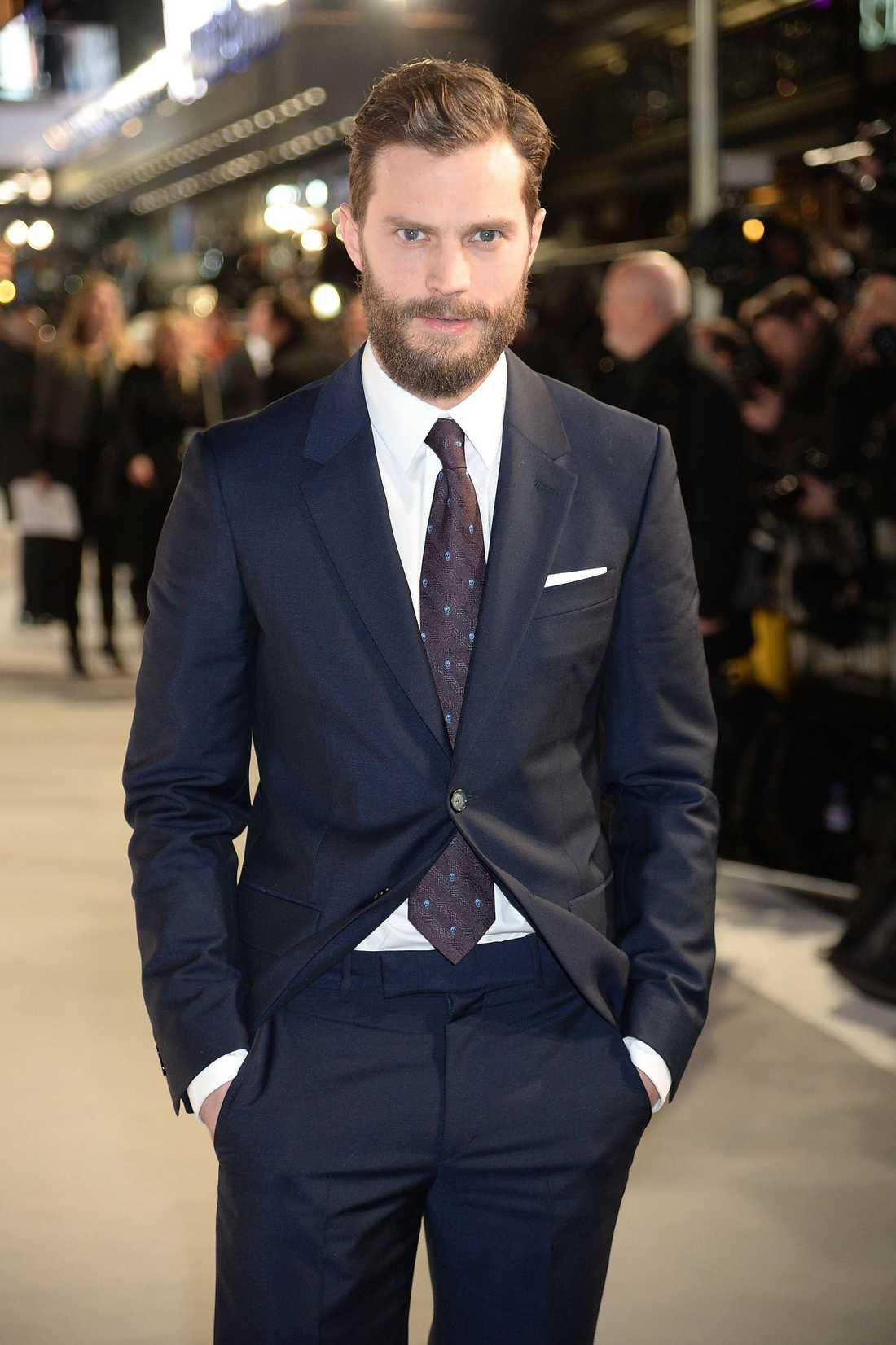 Jamie Dornan spelar Christian Grey.