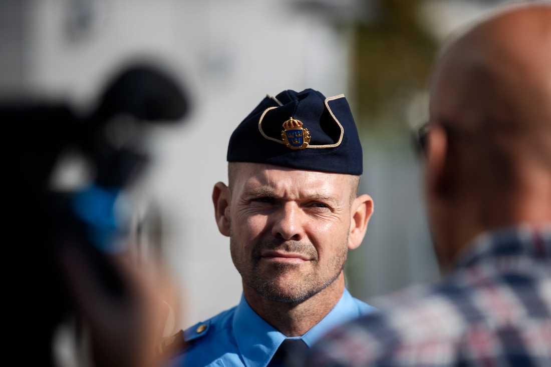 Patrick Ungsäter, chef polisområde Stockholm Nord.