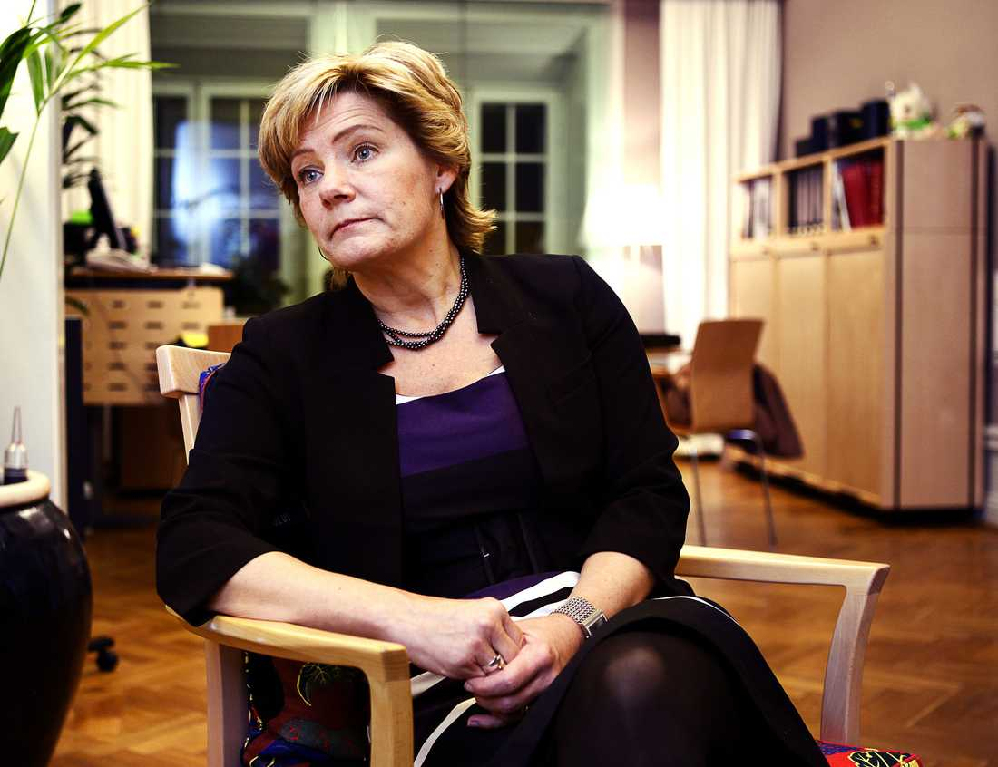 Maria Larsson, (kd) Barn- och Äldreminister.