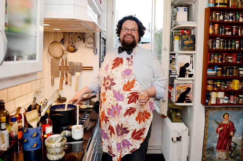 Edward Blom lagar mat