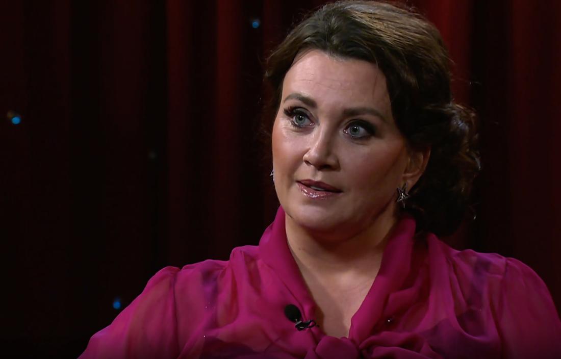 """Camilla Läckberg i SVT:s """"Min sanning""""."""